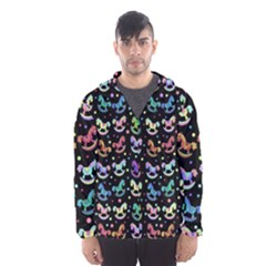 Toys pattern Hooded Wind Breaker (Men)