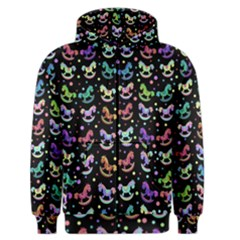 Toys pattern Men s Zipper Hoodie