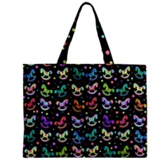 Toys pattern Zipper Mini Tote Bag