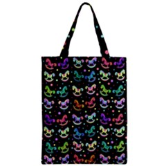 Toys pattern Zipper Classic Tote Bag
