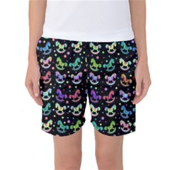 Toys pattern Women s Basketball Shorts