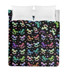 Toys pattern Duvet Cover Double Side (Full/ Double Size)