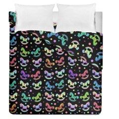 Toys pattern Duvet Cover Double Side (Queen Size)