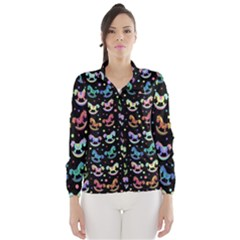 Toys pattern Wind Breaker (Women)