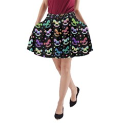 Toys pattern A-Line Pocket Skirt