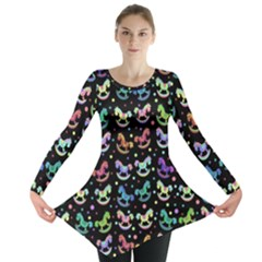 Toys pattern Long Sleeve Tunic