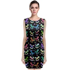 Toys pattern Classic Sleeveless Midi Dress