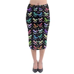 Toys pattern Midi Pencil Skirt