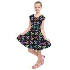 Toys pattern Kids  Short Sleeve Dress