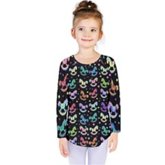 Toys pattern Kids  Long Sleeve Tee