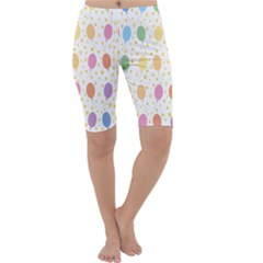 Balloon Star Rainbow Cropped Leggings  by Mariart