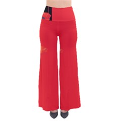 Flower Floral Red Back Sakura Pants by Mariart