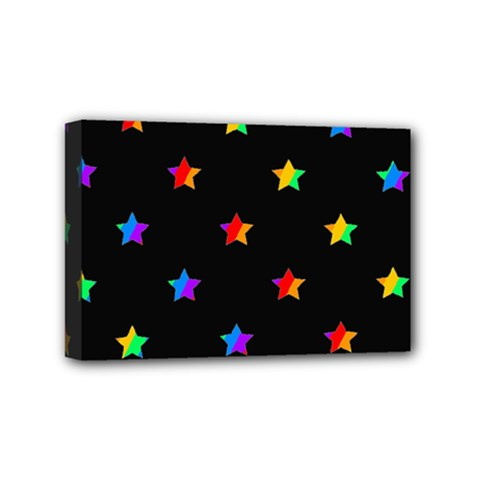 Stars Pattern Mini Canvas 6  X 4