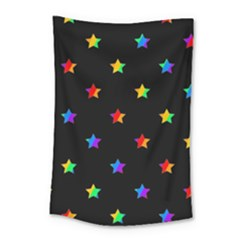 Stars Pattern Small Tapestry by Valentinaart