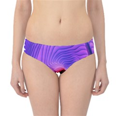 Digital Art Spirals Wave Waves Chevron Red Purple Blue Pink Hipster Bikini Bottoms by Mariart