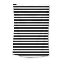Horizontal Stripes Black Small Tapestry by Mariart