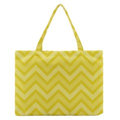 Zig Zags Pattern Medium Zipper Tote Bag by Valentinaart