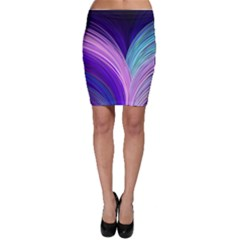 Color Purple Blue Pink Bodycon Skirt by Mariart