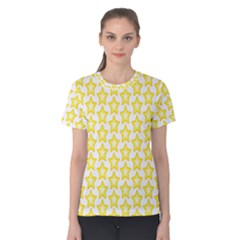 Yellow Orange Star Space Light Women s Cotton Tee by Mariart