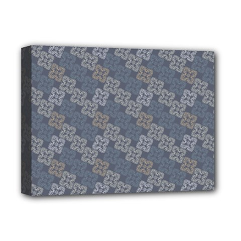 Decorative Ornamental Geometric Pattern Deluxe Canvas 16  X 12   by TastefulDesigns