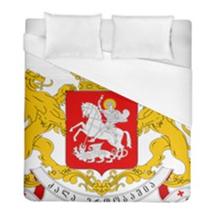 Greater Coat Of Arms Of Georgia  Duvet Cover (full/ Double Size) by abbeyz71
