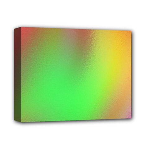 November Blurry Brilliant Colors Deluxe Canvas 14  X 11  by Simbadda