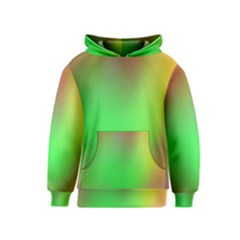 November Blurry Brilliant Colors Kids  Pullover Hoodie by Simbadda