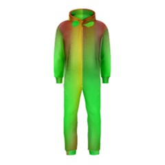 November Blurry Brilliant Colors Hooded Jumpsuit (kids)