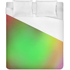November Blurry Brilliant Colors Duvet Cover (california King Size) by Simbadda