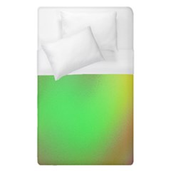 November Blurry Brilliant Colors Duvet Cover (single Size)