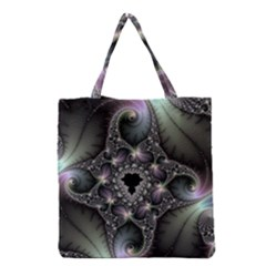 Magic Swirl Grocery Tote Bag by Simbadda