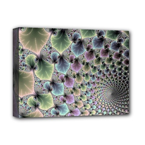 Beautiful Image Fractal Vortex Deluxe Canvas 16  X 12   by Simbadda