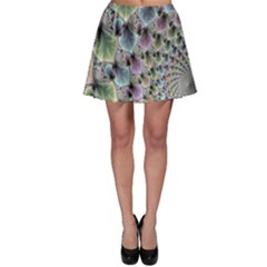 Beautiful Image Fractal Vortex Skater Skirt by Simbadda