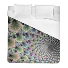 Beautiful Image Fractal Vortex Duvet Cover (full/ Double Size) by Simbadda