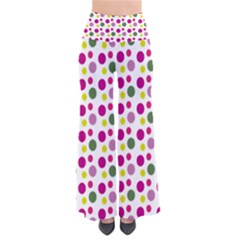 Polka Dot Purple Green Yellow Pants