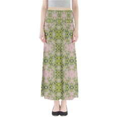 Digital Computer Graphic Seamless Wallpaper Maxi Skirts