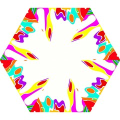 Simple Abstract With Copyspace Mini Folding Umbrellas by Simbadda