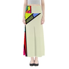 Digitally Created Abstract Page Border With Copyspace Maxi Skirts