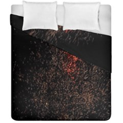 July 4th Fireworks Party Duvet Cover Double Side (california King Size) by Simbadda