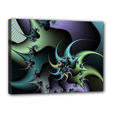 Fractal Image With Sharp Wheels Canvas 16  X 12
