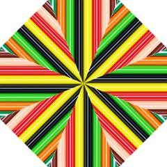 Stripes Colorful Striped Background Wallpaper Pattern Hook Handle Umbrellas (large)