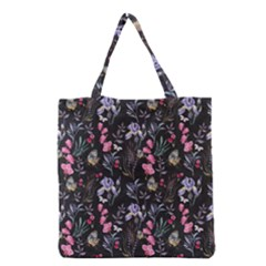Wildflowers I Grocery Tote Bag