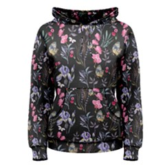 Wildflowers I Women s Pullover Hoodie by tarastyle