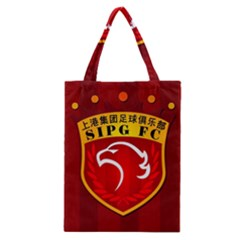 Shanghai Sipg F C  Classic Tote Bag by Valentinaart