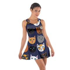 Cat  Cotton Racerback Dress