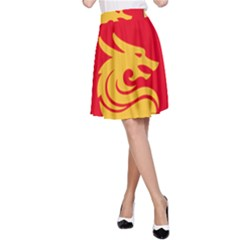 Hebei China Fortune F C  A Line Skirt by Valentinaart