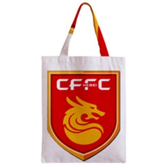 Hebei China Fortune F C  Zipper Classic Tote Bag by Valentinaart