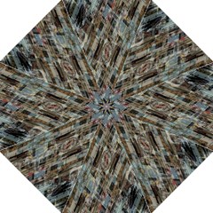 Abstract Chinese Background Created From Building Kaleidoscope Straight Umbrellas