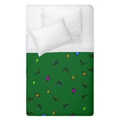 Green Abstract A Colorful Modern Illustration Duvet Cover (single Size) by Simbadda