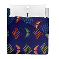 Abstract A Colorful Modern Illustration Duvet Cover Double Side (full/ Double Size) by Simbadda